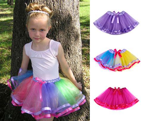 Rok Tutu Anak 3 4y pita busur gadis rok tutu fashion rok tutu gadis pendek bayi tutus rok untuk anak perempuan