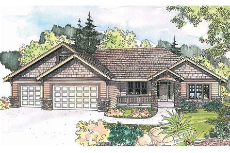 craftsman house design craftsman house plans goldendale 30 540 associated designs