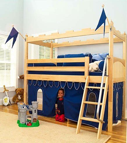 Castle Loft Bunk Bed Funk N Awesomeness With A Castle Tent Loft Bed Funk This House