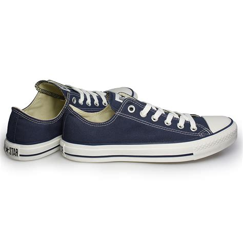 womens navy sneakers converse all navy blue canvas trainers sneakers shoes