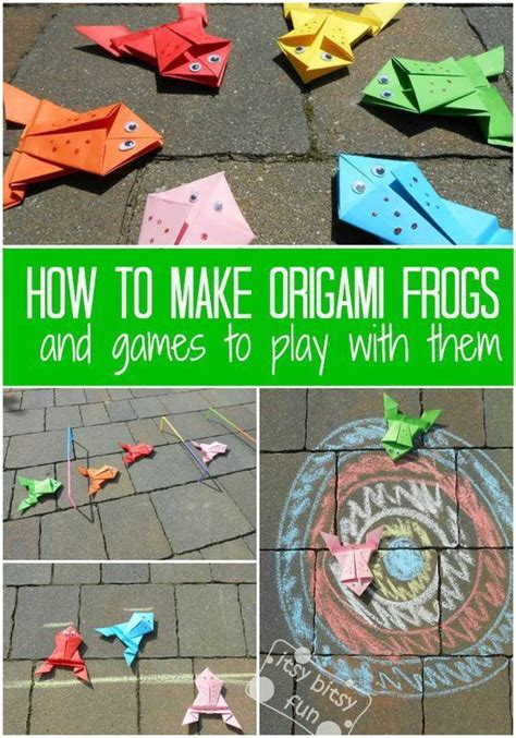 How To Make Paper Frog That Jumps - 25 unique origami frog ideas on jumping frog