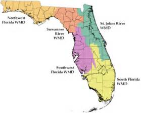florida water management districts map zones of regulation tools related keywords zones of
