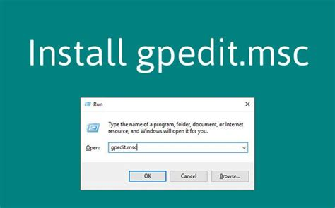 install windows 10 group policy how to install group policy editor gpedit msc