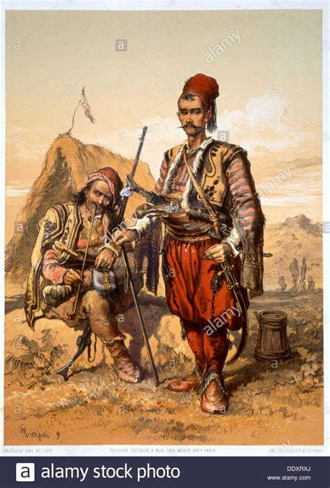 ottoman army turkish foot soldiers in the ottoman army 1857 artist