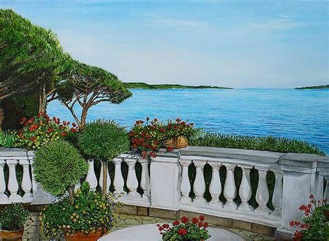 terrazzo fiorito terrazzo fiorito sul mare i dipinti di grazia calabr 242
