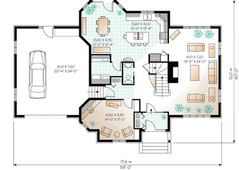 European Floor Plans by European House Plan Boasts Cozy Floor Plan 21015dr