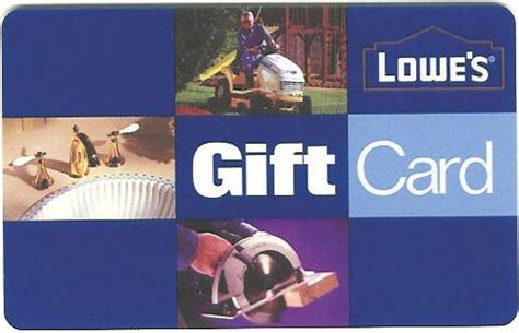 Discount Lowes Gift Cards - 100 lowe s gift card only 90 shipped freebies2deals