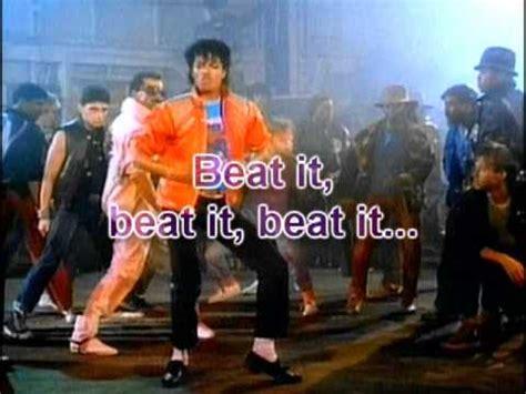 testo beat it traduzione italiano canzone beat it di michael jackson