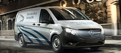 parts and service mercedes vans
