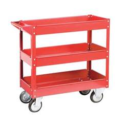 service carts three shelf 16 quot x 30 quot steel service cart
