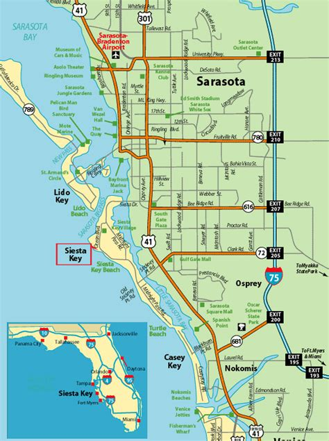 map of siesta florida siesta by the sea siesta key florida vaction rentals