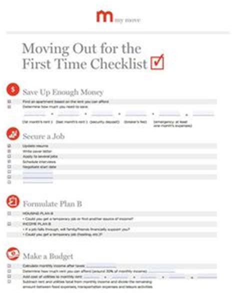 how to plan to move out of your parents house 1000 ideas about moving out checklist on pinterest moving out rental property and