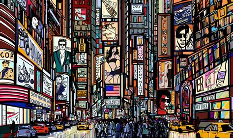 Underwater Wall Mural times square wall mural new york wallpapers wallpaper ink