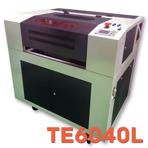 home laser cutter te6040l 600x400mm glass co2 laser cutter engraver