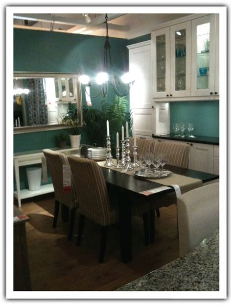 teal dining room real walls are pretty new color for the condo paula
