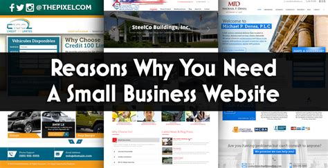 Small Home Business Website Thepixel Reasons Why You Need A Small Business Website