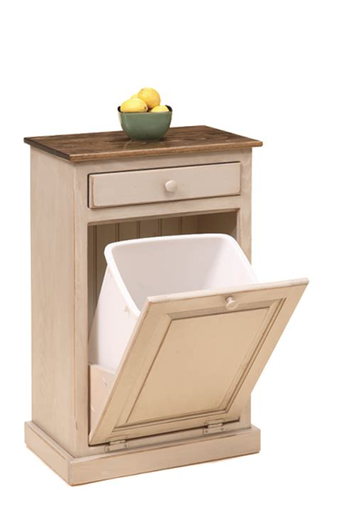 trash bin cabinet with drawer kitchen