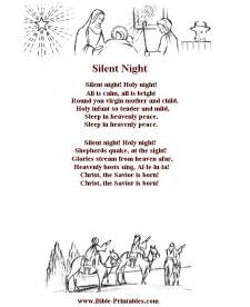 printable lyrics to silent night bible printables children s songs and lyrics silent night