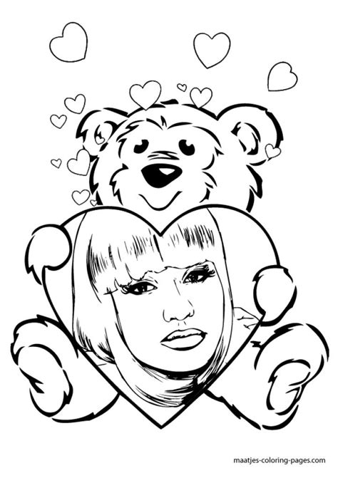 nicki minaj coloring pages nicki minaj coloring pages coloring home