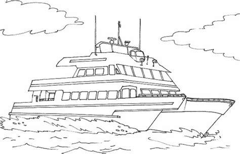 dessin bateau de plaisance bateau navire 127 transport coloriages 224 imprimer