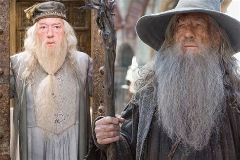 actor who plays gandalf and dumbledore 7 major similarities between harry potter and the lord of