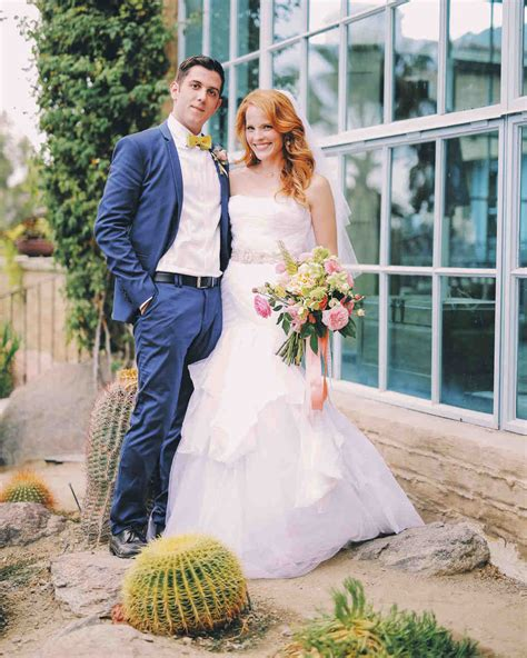 Katie Leclerc and Brian Habecost?s Fun Palm Springs Wedding   Martha Stewart Weddings