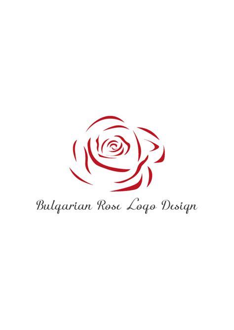 design a rose logo bulgarian rose logo design aya templates
