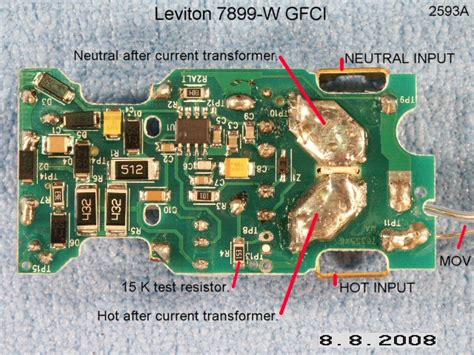 test resistors circuit board p5 test resistor and back side of printed circuit board