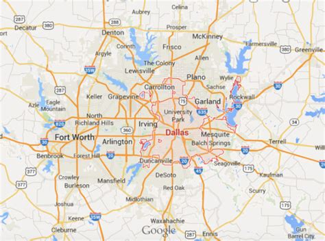 map of dfw don t mess with startups why the dallas tech is set to explode geekwire