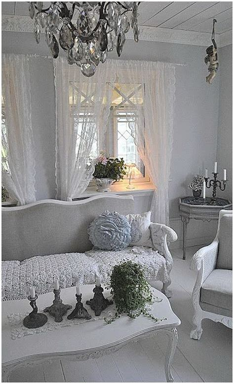 decorating with white in a rustic shabby chic bedroom 25 charming shabby chic living room decoration ideas