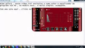 via hd audio deck equalizador via hd audio deck configurando modelo novo