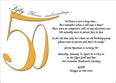 invitation for 50th birthday wording 50th birthday invitation wording dolanpedia invitations ideas