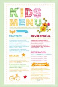pin menu card templates on pinterest