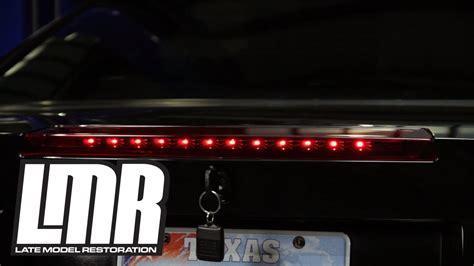 sn95 mustang tail lights mustang led third brake light installation 99 04 sn95