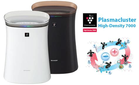Air Purifier Fp F40y T jual sharp fp f40y t air purifier hitam free ongkir