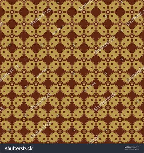 indonesian batik pattern vector javanese batik seamless pattern set h stock vector