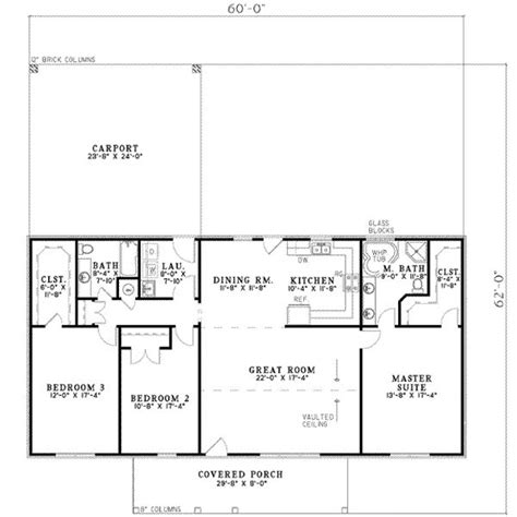 1800 square feet 1800 square feet 3 bedrooms 2 batrooms on 1 levels house plan 18110 all house plans