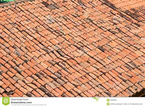 Terracotta Tile Roof Terracotta Tile Roof Stock Photo Image 6358350
