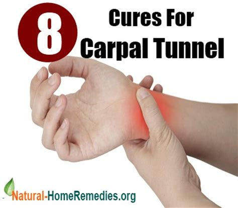 8 cures for carpal tunnel ways to treat carpal