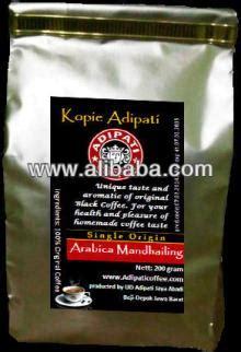 Coffindo Single Origin Arabica Sumatera Roasted Bean ground coffee arabica mandhailing sumatera island products