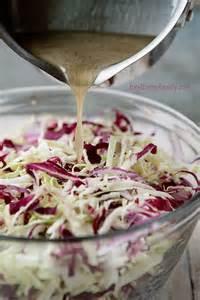tangy vinegar coleslaw recipe via shaina olmanson food