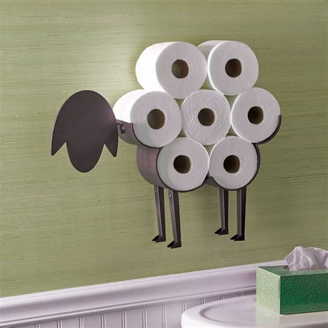 decorative single toilet paper cover sheep decorative toilet paper holder free standing