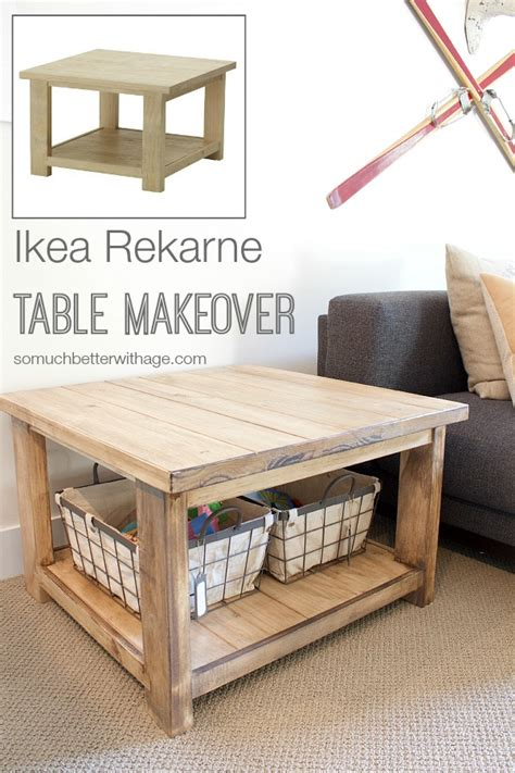 ikea rekarne coffee table ikea rekarne table makeover so much better with age