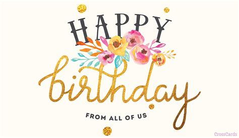 birthday card from all of us template free happy birthday from all of us ecard email free