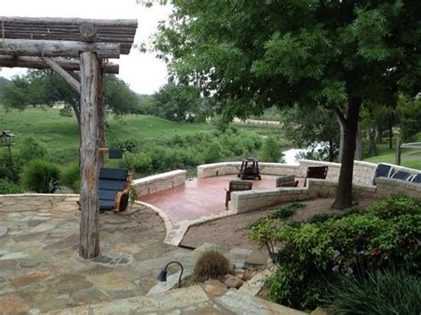 Marble Falls Bed And Breakfast by View From The Terrace Picture Of Vista Bed And
