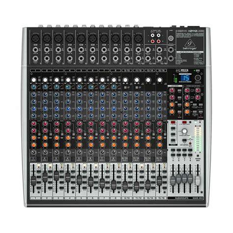 Mixer Audio Baru jual behringer xenyx 2442usb mixer audio harga kualitas terjamin blibli