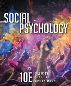 Psychology 10th Edition social psychology 10th edition rent 9781305580220