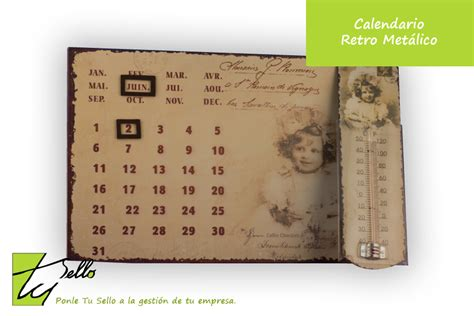 Calendario Retro Tu Sello M 225 S Regalos