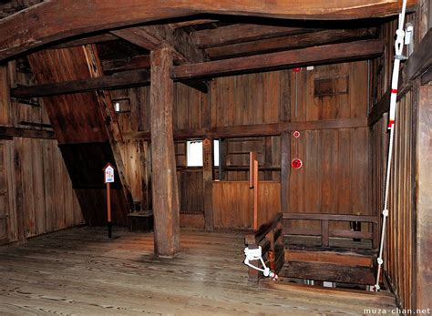 Japanese Interiors japanese castle interior maruoka