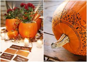 Inexpensive Fall Decorating Ideas - special wednesday fall wedding flower ideas bridal